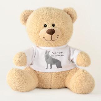 Fun German Shepherd Teddy Bear