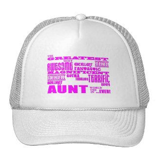 Fun Gifts for Aunts : Greatest Aunt Mesh Hats