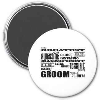 Fun Gifts for Grooms Greatest Groom Magnets