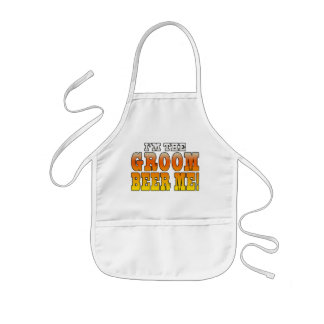 Fun Gifts for Grooms : I'm the Groom - Beer Me! Aprons
