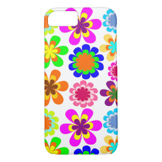 Fun girly floral iPhone 8/7 case