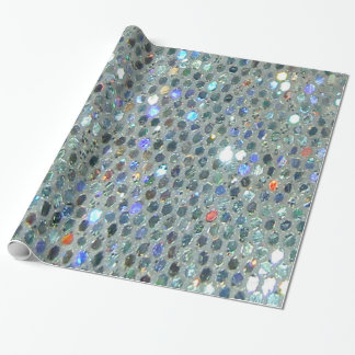Fun Glitzy Glittery Sparkly Colorful Bling Wrapping Paper
