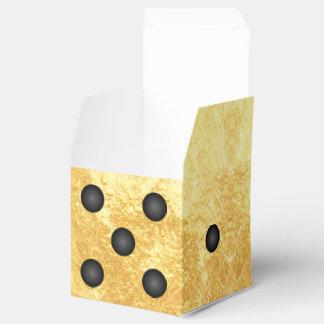 Fun Gold Winner Bunco Dice Party Favor Box