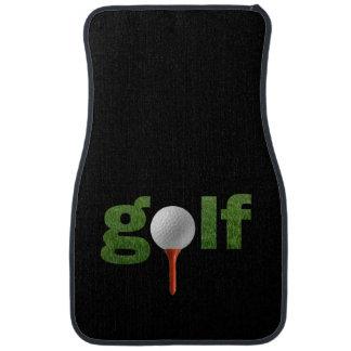 Fun Golf Sports Design Car Mat
