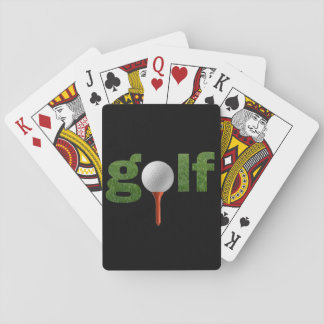 Fun Golf Sports Design Playing Cards