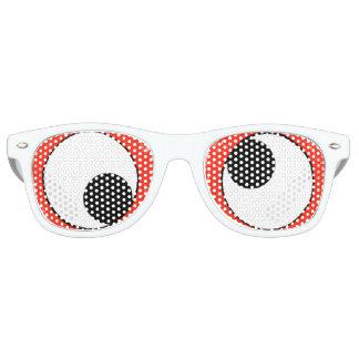Fun Googly-Eyes Party Retro Sunglasses