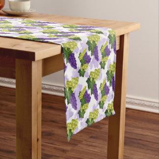 Fun grape fruit pattern kitchen table runner