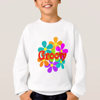 Fun Groovy Flowers Sweatshirt