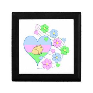 Fun Hamster Heart Gift Box