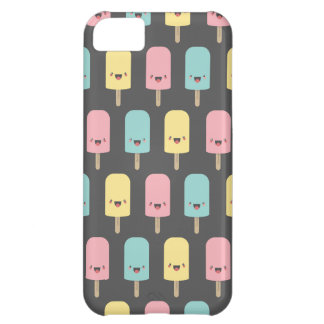 Fun Happy Kawaii Ice Lollies Case For iPhone 5C