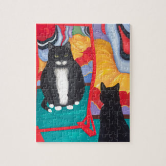 Fun House Fat Cat Jigsaw Puzzle