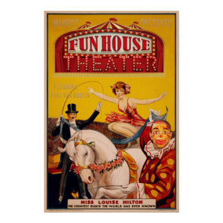 Fun House Theater Poster