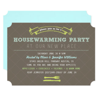 Fun Housewarming Party Invite