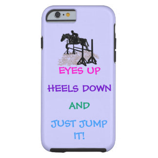 Fun Hunter/Jumper Equestrian Tough iPhone 6 Case