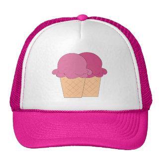 Fun Ice Cream cone Festival vendors hat