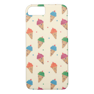 Fun Ice Cream Pattern iPhone 7 Case