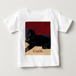 Fun iCuddle Long Hair Dachsund Baby T-Shirt