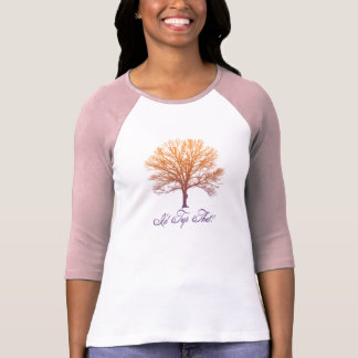 "Fun ""I'd Tap That!"" Sugar Maple Tree Design T-Shirt"