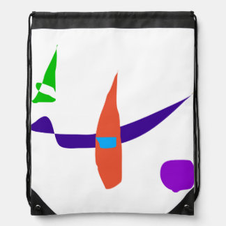 Fun in the Desert Drawstring Bag