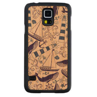 Fun in the Sea Cherry Galaxy S5 Slim Case