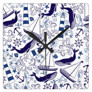 Fun in the Sea Clock