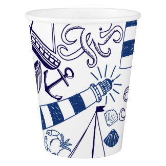 Fun in the Sea Paper Cup