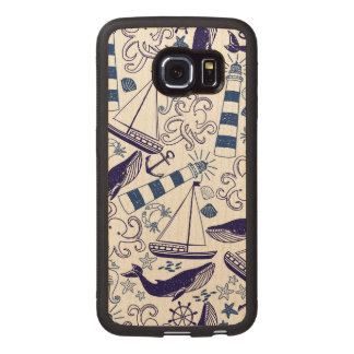 Fun in the Sea Wood Phone Case