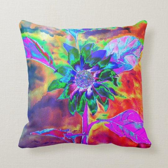 Fun in the Sun  - chakra sunflower Throw Pillow