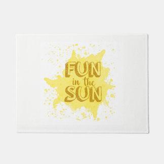 Fun in the Sun Door Mat