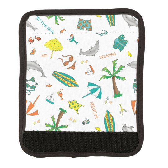 Fun in the Sun Luggage Handle Wrap