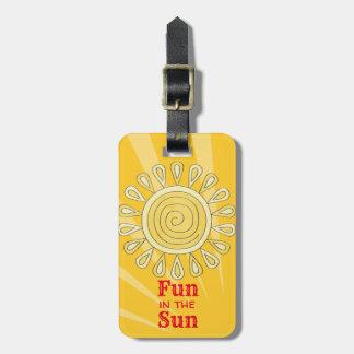 Fun in the Sun Luggage Tag