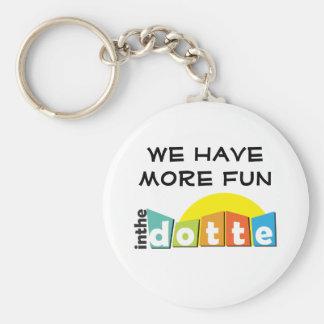 Fun InTheDotte - Wyandotte, Michigan - Key Chain