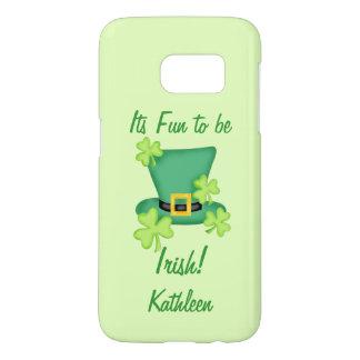 Fun Irish St. Patrick's Day Name Personalized Samsung Galaxy S7 Case