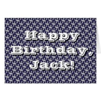 Fun Jacks Birthday Card