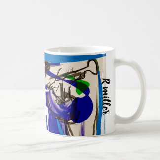 Fun jazz coffee mug