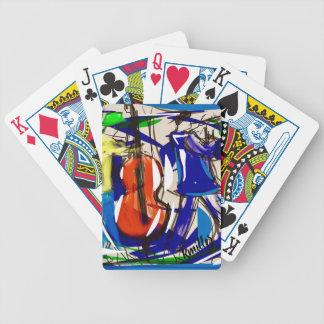 Fun jazz playing cards