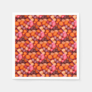 Fun Jelly Beans Candy Pattern Napkin
