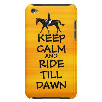 Fun Keep Calm & Ride Till Dawn Horse iPod Touch Case-Mate Case
