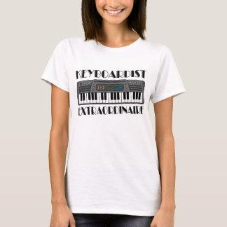 Fun Keyboardist Extraordinaire Music Gift T-Shirt