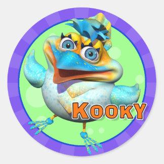 Fun Kooky Bird Stickers