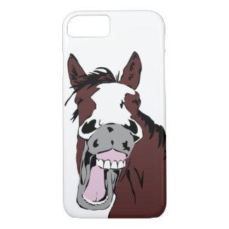Fun Laughing Horse Cartoon iPhone 7 Case
