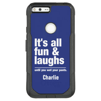 FUN & LAUGHS custom name & color phone cases