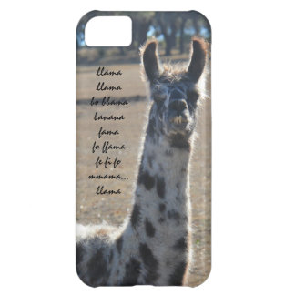 Fun llama iPhone with banana song (llama llama...) iPhone 5C Covers
