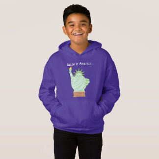 """Fun """"Made in America"""" cartoon """"Statue of Liberty"""","""