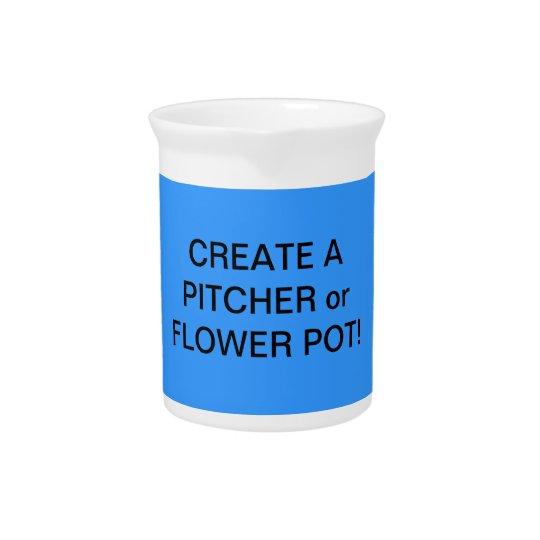 Fun! Make a FLOWER VASE or PITCHER! Pitcher