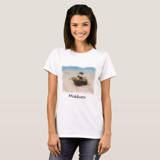 Fun Maldives Coral Fish Souvenir T-Shirt