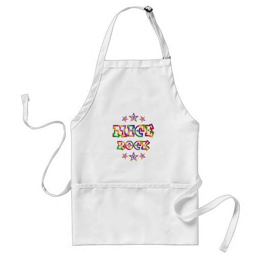 Fun Mice Rock Aprons
