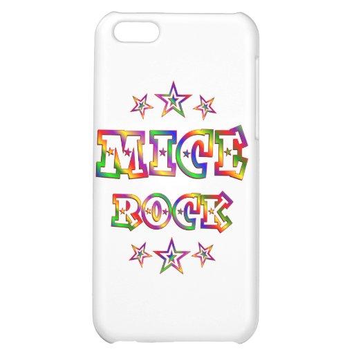 Fun Mice Rock Cover For iPhone 5C