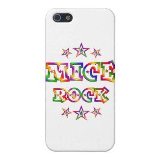 Fun Mice Rock iPhone 5 Case