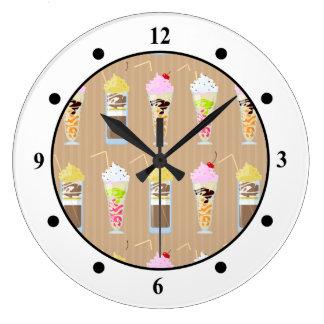 Fun Milk Shake Design Clock